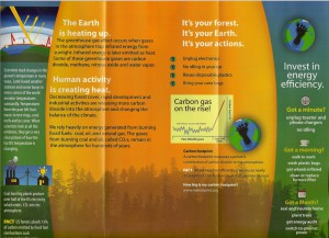 Fremont-Winema National Forest brochure on the effects of climate change on our local forest (2/2). Click to expand.