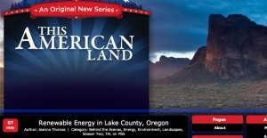 PBS's This American Land to highlight Lake County's sustainability efforts